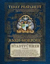 Vollsthändiger und unentbehrlicher Stadtführer von gesammt Ankh-Morpork - Klickt hier für die große Abbildung zur Rezension