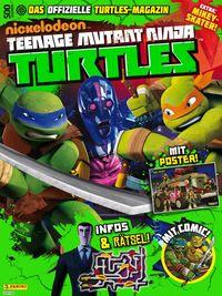 TV-Comic-Nickelodeon: Teenage Mutant Ninja Turtles Magazin 5 - Klickt hier für die große Abbildung zur Rezension