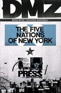DMZ 13: New Yorker Geschichten - Klickt hier für die große Abbildung zur Rezension