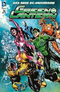Green Lantern Sonderband 34: Die dritte Armee - Klickt hier für die große Abbildung zur Rezension