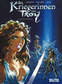Die Kriegerinnen von Troy 2: Das Gold der Tiefe - Klickt hier für die große Abbildung zur Rezension