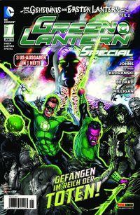 Green Lantern Special 1: Das Geheimnis der ersten Lantern - Klickt hier für die große Abbildung zur Rezension