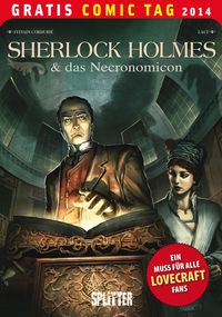 Sherlock Holmes und das Necronomicon - Gratis Comic Tag 2014 - Klickt hier für die große Abbildung zur Rezension