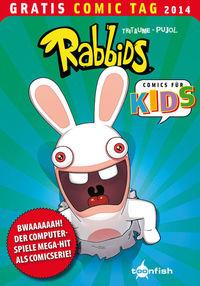 Rabbids - Gratis Comic Tag 2014 - Klickt hier für die große Abbildung zur Rezension