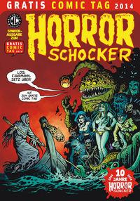 Horrorschocker - Gratis Comic Tag 2014 - Klickt hier für die große Abbildung zur Rezension