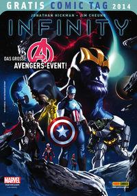 Infinity - Gratis Comic Tag 2014 - Klickt hier für die große Abbildung zur Rezension