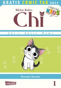 Kleine Katze Chi - Gratis Comic Tag 2014 - Klickt hier für die große Abbildung zur Rezension