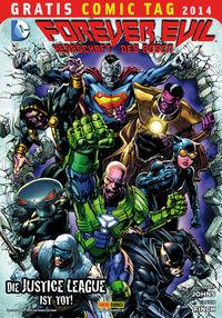 Forever Evil - Gratis Comic Tag 2014 - Klickt hier für die große Abbildung zur Rezension
