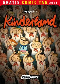 Kinderland - Gratis Comic Tag 2014 - Klickt hier für die große Abbildung zur Rezension