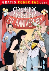 Strangers in Paradise - Episode 1 - Gratis Comic Tag 2014 - Klickt hier für die große Abbildung zur Rezension