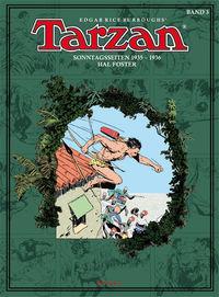 Tarzan 3: Sonntagseiten 1935-1936 - Klickt hier für die große Abbildung zur Rezension