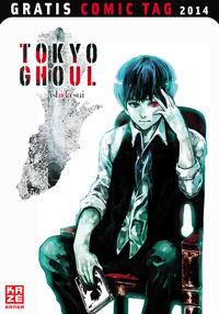 Tokyo Ghoul - Gratis Comic Tag 2014 - Klickt hier für die große Abbildung zur Rezension