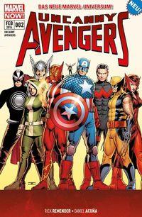 Uncanny Avengers 2: Die Apocalypse-Zwillinge - Klickt hier für die große Abbildung zur Rezension