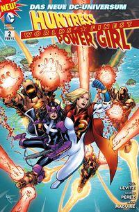 Worlds´ Finest 2: Huntress & Power Girl-Familienbande - Klickt hier für die große Abbildung zur Rezension