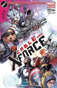 Cable Und X-Force 3 - Klickt hier für die große Abbildung zur Rezension