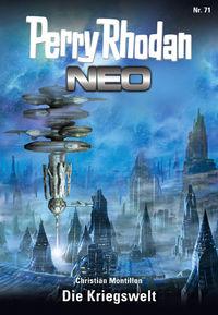 Perry Rhodan Neo 71: Die Kriegswelt - Klickt hier für die große Abbildung zur Rezension