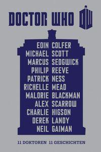 Doctor Who - 11 Doktoren, 11 Geschichten - Klickt hier für die große Abbildung zur Rezension