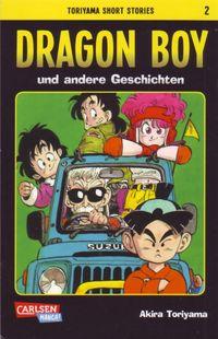 Toriyama Short Stories 2: Dragon Boy und andere Geschichten - Klickt hier für die große Abbildung zur Rezension