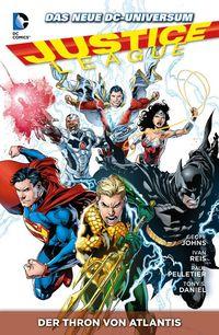 Justice League Paperback 3: Der Thron von Atlantis - Klickt hier für die große Abbildung zur Rezension
