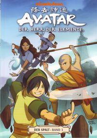 Avatar - Der Herr der Elemente 8: Der Spalt 1 - Klickt hier für die große Abbildung zur Rezension