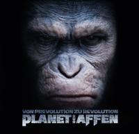 Planet der Affen - Artbook -Von Prevolution zu Revolution - Klickt hier für die große Abbildung zur Rezension