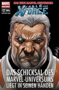 Cable und X-Force 4: Finstere Mächte - Klickt hier für die große Abbildung zur Rezension