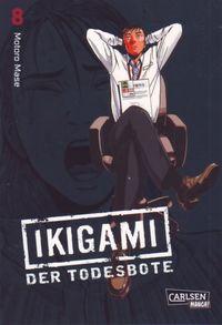 Ikigami - Der Todesbote 8 - Klickt hier für die große Abbildung zur Rezension