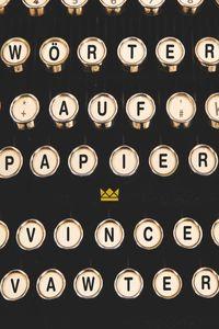 Wörter auf Papier - Klickt hier für die große Abbildung zur Rezension