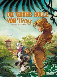 Die grüne Hölle von Troy - Klickt hier für die große Abbildung zur Rezension