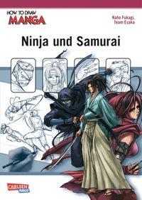 How to Draw Manga: Ninja und Samurai - Klickt hier für die große Abbildung zur Rezension