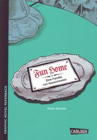 Fun Home – Eine Familie von Gezeichneten - Klickt hier für die große Abbildung zur Rezension