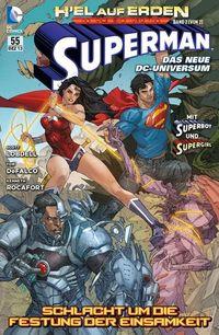 Superman Sonderband 55: H´EL auf Erden Band 2 (von 2): Schlacht um die Festung der Einsamkeit - Klickt hier für die große Abbildung zur Rezension