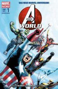 Avengers World 1: A.I.M.Perium - Klickt hier für die große Abbildung zur Rezension