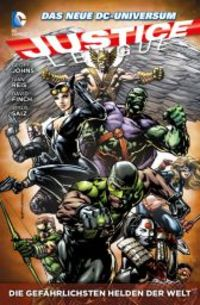 Justice League Paperback 4: Die gefährlichsten Helden der Welt - Klickt hier für die große Abbildung zur Rezension