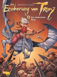 Die Eroberung von Troy 4: Der räuberische Berg - Klickt hier für die große Abbildung zur Rezension