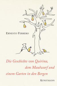Die Geschichte von Quirina, dem Maulwurf und einem Garten in den Bergen - Klickt hier für die große Abbildung zur Rezension