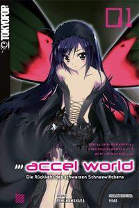 Accel World Novel 1: Die Rückkehr des schwarzen Schneewittchens - Klickt hier für die große Abbildung zur Rezension
