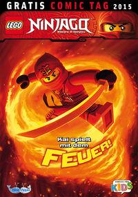 Lego Ninjago - Gratis Comic Tag 2015 - Klickt hier für die große Abbildung zur Rezension