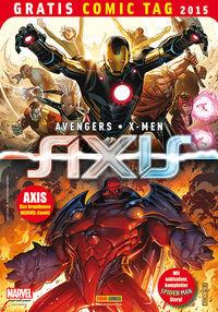 Avengers / X-Men: Axis - Gratis Comic Tag 2015 - Klickt hier für die große Abbildung zur Rezension
