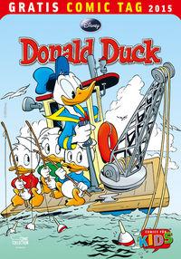 Donald Duck - Gratis Comic Tag 2015 - Klickt hier für die große Abbildung zur Rezension