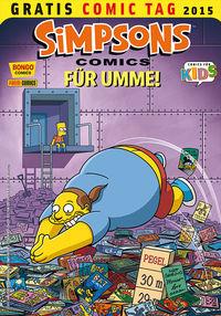 Simpsons Comics für Umme - Gratis Comic Tag 2015 - Klickt hier für die große Abbildung zur Rezension