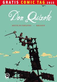 Don Quixote - Gratis Comic Tag 2015 - Klickt hier für die große Abbildung zur Rezension