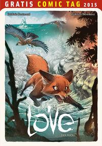 Love: Der Fuchs - Gratis Comic Tag 2015 - Klickt hier für die große Abbildung zur Rezension