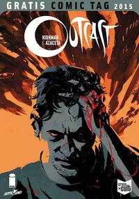 Outcast - Gratis Comic Tag 2015 - Klickt hier für die große Abbildung zur Rezension