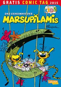 Das Geheimnis der Marsupilamis - Gratis Comic Tag 2015 - Klickt hier für die große Abbildung zur Rezension
