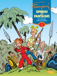 Spirou und Fantasio 1: Die Anfänge eines Zeichners - Klickt hier für die große Abbildung zur Rezension
