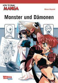 How to Draw Manga: Monster und Dämonen - Klickt hier für die große Abbildung zur Rezension