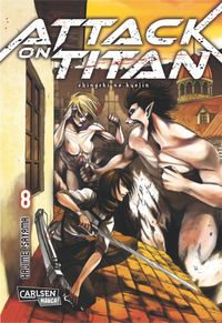 Attack on Titan 8 - Klickt hier für die große Abbildung zur Rezension