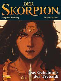 Der Skorpion 11: Das Geheimnis der Trebaldi - Klickt hier für die große Abbildung zur Rezension
