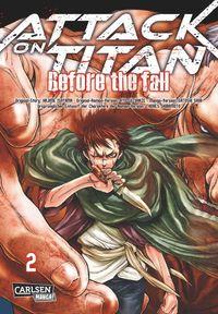 Attack on Titan - Before the Fall 2 - Klickt hier für die große Abbildung zur Rezension